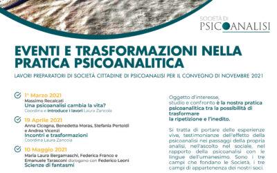 Eventi e trasformazioni nella pratica psicoanalitica